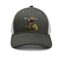 4d900d681243e Band five finger death punch skull war army-green mens and women trucker cap  baseball styles fitted running hats