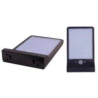 luzes da casa solar venda por atacado-Alumínio pólo 36 Lâmpada Solar LED sem fio três modos Outdoor Luz Solar Waterproof Segurança Iluminação Para Casa