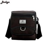 calzoncillos de hombre marrón al por mayor-Pop Breve diseño Mens Oxford bolsa de mensajero de moda de alta calidad 2 tamaño negro marrón macho pequeño bolso de hombro