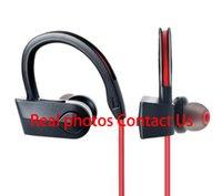 ingrosso cuffie auricolari dell'orecchio iphone-Auricolare senza fili di qualità AAA + B3.0 con cuffia stereo logo sportivo Auricolare in-ear gancio di orecchio per iphone samsung PK PB3