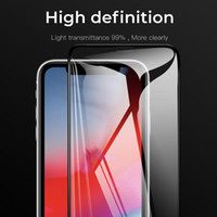 Wholesale bendable glasses resale online - Tempered Screen Protector PMMA PC Glass like Bendable for iPhone Pro Max XS MAX XR Samsung Note10 S9 S10 Plus Not Tempered Glass