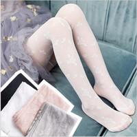 çocuklar için beyaz çoraplar toptan satış-Yaz Külotlu çorap Kız bebekler Dantel Tayt Çocuk Çocuk Giyim Çorap İnce Beyaz Siyah Külotlu Güzel Tasarımcı Kız Giyim Hediyeler