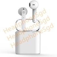 voyager kopfhörer groihandel-Drahtlose Lade H1 Chip Kopfhörer-Ohr (umbenannt und GPS) Bluetooth Headset automatische Kopplung Headset PK AP2 i7 i9s I13 I18 I60 i80 TWS