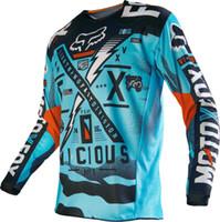 erkek bisiklet gömlekleri toptan satış-MotoGP Jersey Hızlı Kuru Yokuş Aşağı Bisiklet Gömlek Erkekler için MTB T-Shirt Gençlik Jersey moto BMX Çocuk / Genç bisiklet Motocross Jersey Erkekler Için Uzun