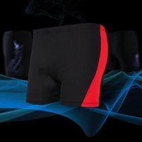 männchen beachwear großhandel-Männlich Schwimmen Boxershorts Skinny Widerstand reduzieren Schnell trocknend Badeanzüge Kurze elastische atmungsaktive Beachwear zum Surfen Schwimmen