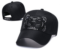 chapeaux de tigres achat en gros de-haute qualité marque tigre casquette de baseball chapeaux pour hommes femmes Casual sport visor chapeau en gros gorra Snapback Caps casquette os papa chapeau