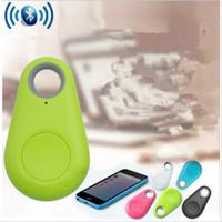 Wholesale hot sale gps resale online - Mini Smart Finder Smart Child Wireless Bluetooth Tracer GPS Locator Tracking Tag Hot sale Alarm Wallet Key Tracker Retail box TL849