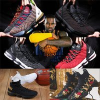 Wholesale 2019 new Rainbow CNY THRU LMTD Starting Oreo s FRESH BRED What the XVI james Multicolor Basketball Shoes LeBRon s Wolf Grey Sports