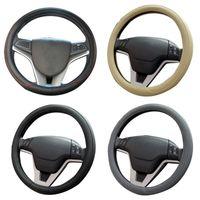 glaçage anti achat en gros de-New Auto Couvre Volant Universel Givré Anti Glissement Respirant Résistant À L'usure De Voiture Accessoires