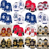 Wholesale auston matthews for sale - Group buy NHL Toronto Maple Leafs Jersey John Tavares Calgary Flames Auston Matthews Boston Bruins Patrice Bergeron Hurricanes Aho Hockey jerseys