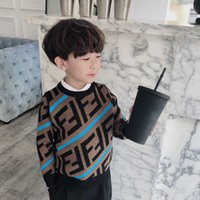 strickmuster groihandel-Qualitäts-neue Ankunfts-Jungen-Mädchen-Strickjacke-Kinder Kleidung Muster gestrickte Pullover Baby Pullover Pullover Strick