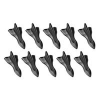 roofs plastic venda por atacado-10 PCS 3D Decoração Do Carro Adesivo Exterior Adesivo Windshield Carro Telhado Adesivos Tubarão Padrão Auto Acessórios Styling Universal