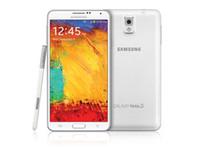 андроид для мобильного телефона оптовых-Оригинал Восстановленное Samsung Galaxy Note3 Note 3 N900A Quad Core 5.7 дюймовый 4 Г LTE Android Сотовый телефон