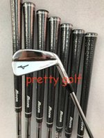 Wholesale branded golf clubs resale online - Brand New MP MB Iron Set MP18 Golf Irons MP18 Golf Clubs P R S Flex Steel Graphite Shaft With Head Cover