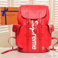 Wholesale travel bag models resale online - 2020 Fashion Luxury Backpack Design Travel Bag Luxury Design Mountaineering Bag Genuine Leather Fashion Printing High Quality Model