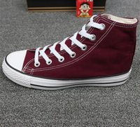 Wholesale canvas shoe price resale online - size factory price promotion canvas shoes men and women high and low top style classic casual shoes sneakers