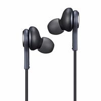 enchufe gratis para auriculares al por mayor-S8 Auriculares internos de 3,5 mm Auriculares internos Micrófono Auriculares para llamadas manos libres para todos los teléfonos móviles con conector de 3,5 mm