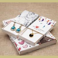 ingrosso carte d'amore fatte a mano-Dreamcatcher confezione regalo stampata Fai da te vano bomboniera amore a mano UK / USA pacchetto regalo segnale paese 12pcs + 12pc scheda interna