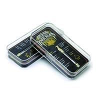 cam kalem hediye toptan satış-Pirinç Knuckles Kartuşları Vape Kartuş Ambalaj 0.5 ml 1.0 ml Altın Bk Pyrex Cam Lezzet Ile Boş Vape Kalem Kartuş Hediye Kutusu Kitleri