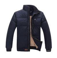 a7429844b54 2018 Stand Collar Warm Flag Famous Pony Down jacket Fashion Appliques  Zipper Outerwear more color sports cotton Horse Parkas coats