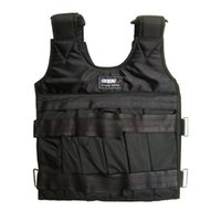 Wholesale weighted vests resale online - SUTENG kg Loading Weighted Vest For Boxing Training Equipment Adjustable Exercise Black Jacket Swat Sanda Sparring Protect