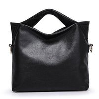 Wholesale ladies working handbags for sale - Group buy Russia Genuine Leather Women Tote Bag High Quality Female Handbag Lady Red Blue Black Beige Shoulder Bag For Shopping Work