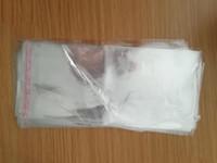 пакеты из полиэтиленового пакета оптовых-Отель одноразовые тапочки Упаковочная сумка OPP Самоклеющаяся сумка Прозрачные пластиковые пакеты Пакет сумка Прозрачные сумки 16 * 37см VT0000