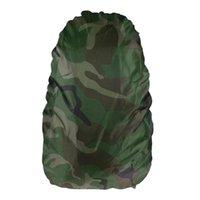 cache-poussière en tissu achat en gros de-NOUVEAU Rain Cover housse 50L Protable Étanche Oxford Tissu Anti-vol En Plein Air Camping Randonnée Vélo Tactical Backpack Dust Cover # 108719