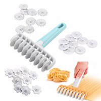 Wholesale cutters for baking for sale - Group buy 37pcs set Kitchen Baking Tool Fondant Ribbon Cutter Different Gears Embosser Set Noodle Dough Cutter Pastry Tools for Cake