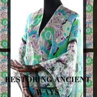 tecidos de seda chiffon floral venda por atacado-Nova impressão floral tecido de seda chiffon avançado perspectiva luz de verão tecido de seda para o vestido de seda pano atacado