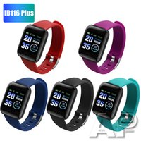 Wholesale heart rate blood pressure resale online - New Plus Smart watch Bracelets Fitness Tracker Heart Rate Step Counter Activity Monitor Band Wristband IP67 Waterproof with retail pack