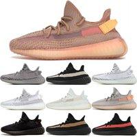 ingrosso scarpe zebra per le donne-vendita all'ingrosso Kanye West v2 Uomini Desinger Triple Scarpe da corsa Donna Scarpe da ginnastica Blu Frozen Yellow Cream Zebra Bred Sport Zapatos Sneakers taglia 13