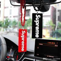 ornamento espelho carro venda por atacado-Carro Pingente Acrílico Moda Raging Automóvel Espelho Retrovisor Encantos Guarnição Suspensão Suspensão Enfeites de Presente