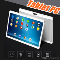 Wholesale 10.1 android tablet case for sale - Group buy 10 quot inch MTK6580 Octa Core Ghz Android G Phone Call tablet pc GPS bluetooth Wifi Dual Camera GB GB keyboard cover Case G PB