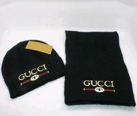 ausländische hüte großhandel-versandkostenfrei schal und hut für männer und frauen außenhandel kappe winter marke set designer schal set