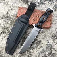 Wholesale self defense multi tool for sale - new bison cavalry hand forged knife DC53 blade outdoor tool hunting camping multi function survival knife