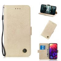Wholesale honor view flip cover online – custom Flip Stand For Huawei Honor View Case Flip Stand Wallet Retro Leather Cover design Mobile Phone Bags Card slot function