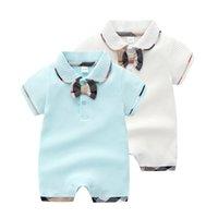 ingrosso i neonati vestono all'ingrosso-I pagliaccetti dei ragazzi delle neonate appena nati 2019 bambini infantili del cotone di un pezzo che salgono i vestiti all'ingrosso delle tute