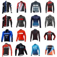 Wholesale giant spring for sale - Group buy GIANT team Cycling long Sleeves jersey Spring Autumn Men s Cycling Jersey Long Sleeve Shirts Jersey Shirts MTB Clothing B615