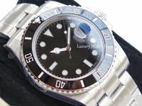 наручные часы оптовых-N заводские часы V7 Luxury 116610LN Eta 2836 Сапфировое зеркало Механические автоматические часы Керамический ободок Циферблат Светящийся дайвинг 100M 904L
