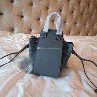 Wholesale wallet modern resale online - Modern fashion handbag lychee leather designer mini hammock bag shoulder bag youth vitality wallet
