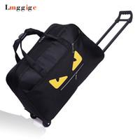 ingrosso sacchetto di stoffa oxford-Borsa da viaggio bagaglio, valigia portatile, mostro impermeabile in tessuto Oxford Trolley da viaggio Dragboxes, borsa di grande capacità con ruote