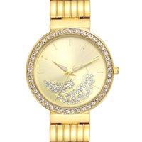 neujahrsblume großhandel-Neuheiten Elegante Blume Zifferblatt Armbanduhren für Frauen Kristall Uhr 3 Hände PC Bewegung neues jahr geschenk freies drop shipping