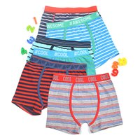 Wholesale kids boy panties for sale - Group buy cool awesome boys striped trunk boxers kids multipack shorts child panties cotton pants children underwear Teenage briefs clothing Packs