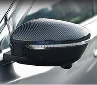 ingrosso accessori nissan x trail-Per Nissan Juke X trail X-trail 2014 2015 2016 2017 Fibra di carbonio Colore Specchietto retrovisore Coperchio posteriore Coperchio ABS Car Styling Accessori