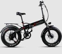 складной велосипед электрический оптовых-TDE10Z XW YDL20FT складной электрический велосипед Fat - Черный Европейские нормы