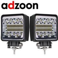 montaje de barcos al por mayor-ADZOON 126w LED Luz de trabajo 10 30V 4WD 12v para Off Road Truck Bus Barco Fog Light Car Assembly