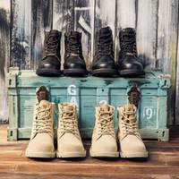 brautkleid reißverschlüsse großhandel-Neue Winter-Martin Stiefel Schwarz Vollnarbenleder Fluff Boots Warm Männer Frauen Top-Qualität Stiefel Freizeitschuhe Designer mit dem Kasten 1015