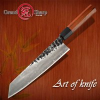 Wholesale chef cooking tools resale online - 9 Inch Handmade Chef s Knife Layers AUS Japanese Steel Kiritsuke Kitchen Knife Slicing Fish Meat Cooking Tools Grandsharp