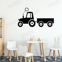 Wholesale loader resale online - Smokey Loader Removable Wall Stickers for Farm Home Living Room Art Decoration for Home Vinyl Wall Decals Kids Room Boys